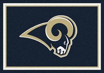 NFL Team Rugs Los Angeles Rams arearugs