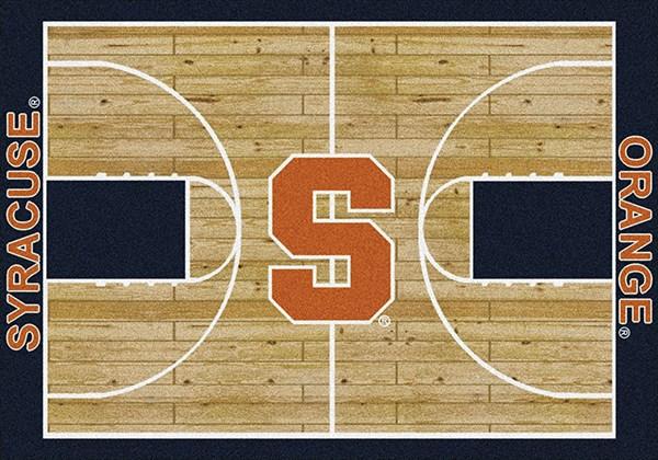 Orange, White, Blue (1395) Novelty / Seasonal / Sports Area Rug