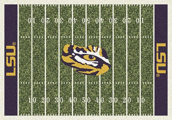 Purple, Gold (1152) Novelty / Seasonal / Sports Area Rug