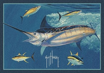 Guy Harvey Marlin Tuna arearugs