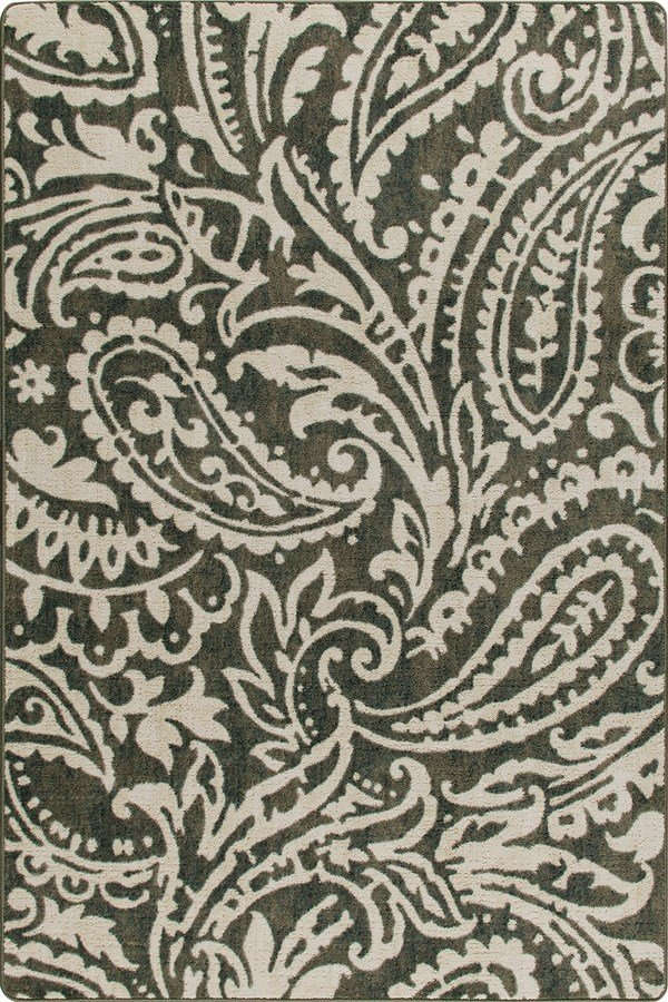 Loden (3546) Paisley Area Rug