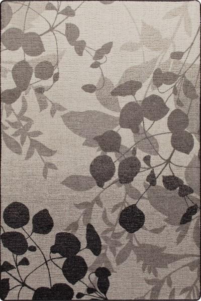 Gray Mist (3492) Floral / Botanical Area Rug