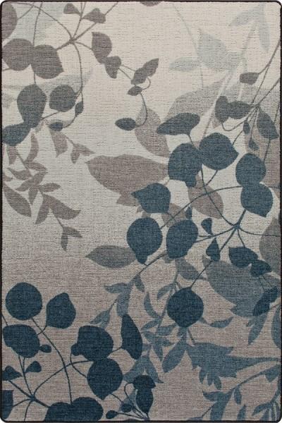 Indigo (3493) Floral / Botanical Area Rug