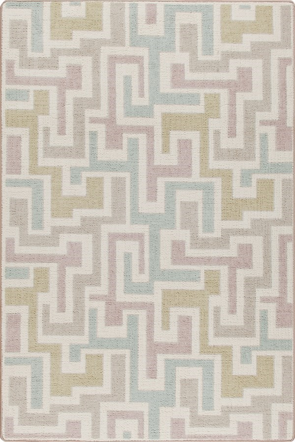 Pastel (3513) Contemporary / Modern Area Rug