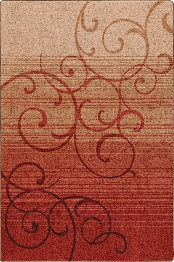 Festival Red (3498) Transitional Area Rug
