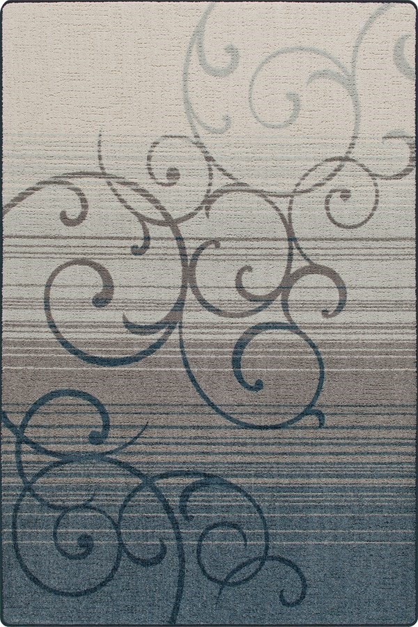 Blue Stone (3499) Transitional Area Rug