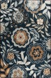 Product Image of Floral / Botanical Celestial Blue (3529) Area Rug