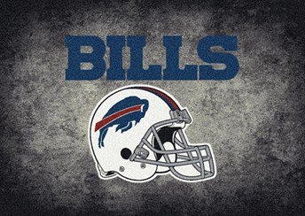NFL Team Distressed Buffalo Bills arearugs