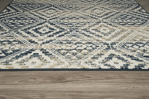 Artisan Blue Southwestern / Lodge Area Rug