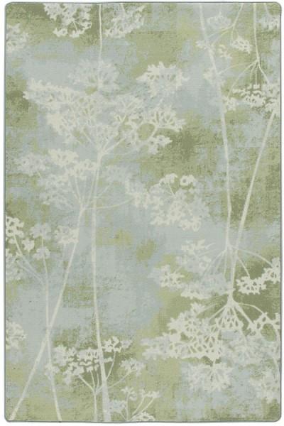 Aspen Mint Floral / Botanical Area Rug