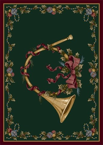 Holiday Rugs French Horn P-4533 arearugs