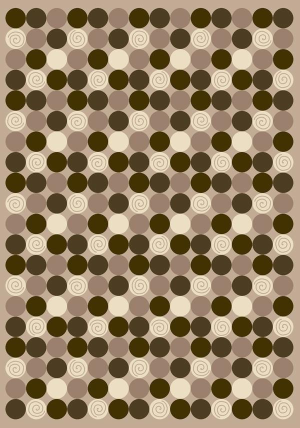 Pearl Mist (1000)  Contemporary / Modern Area Rug
