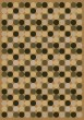 Product Image of Contemporary / Modern Maize (4300)  Area Rug
