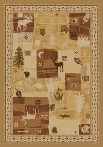 Maize (4300)  Country Area Rug