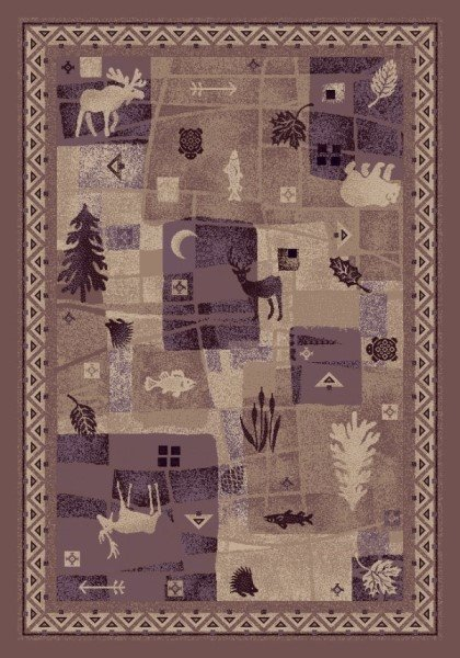 Light Amethyst (7920)  Country Area Rug