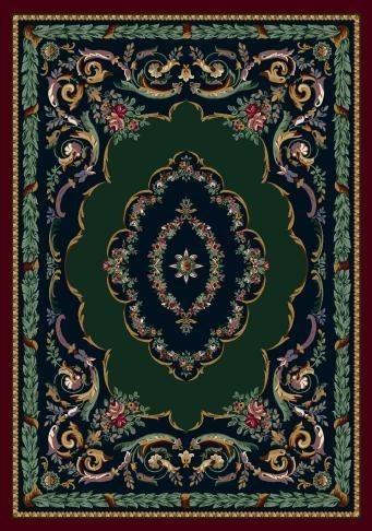 Sapphire Garnet (10000)  Traditional / Oriental Area Rug