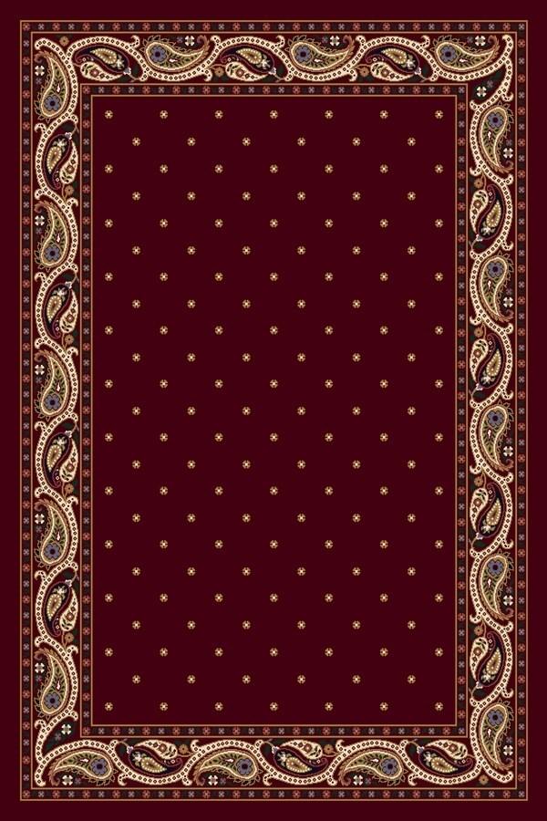 Garnet (10000) Paisley Area Rug