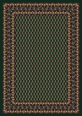 Emerald (11000)  Bordered Area Rug
