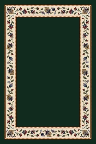 Emerald Solid (11001)  Floral / Botanical Area Rug