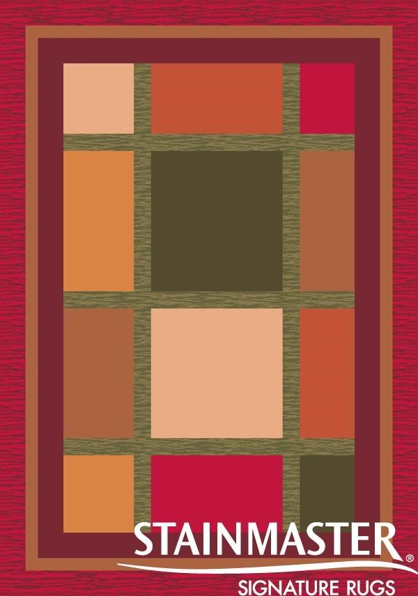 Russet (490)  Contemporary / Modern Area Rug