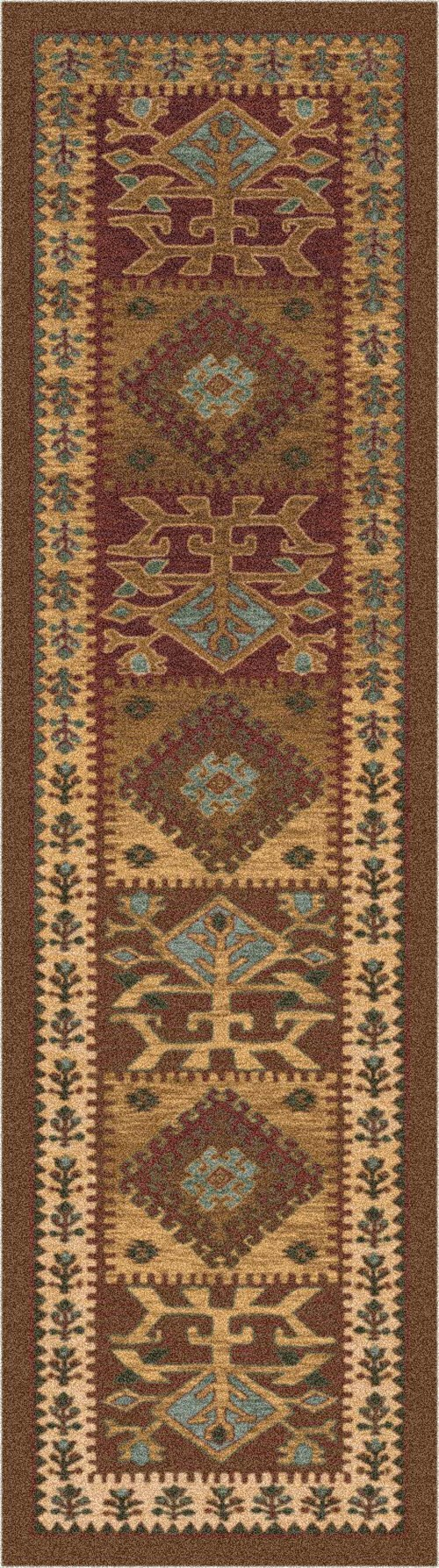 Toffee (55)  Southwestern / Lodge Area Rug
