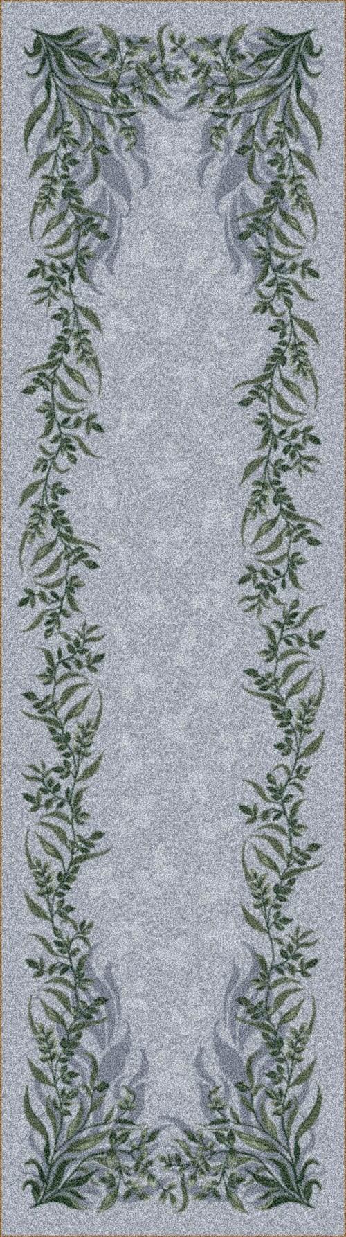 Vapor (2)  Floral / Botanical Area Rug