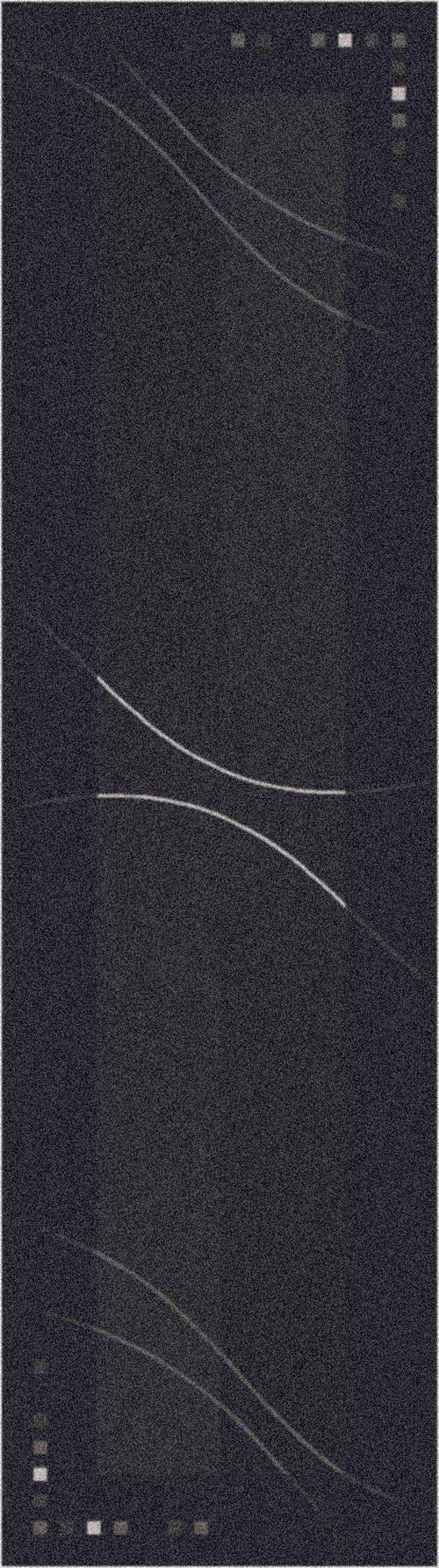 Ebony (24)  Contemporary / Modern Area Rug