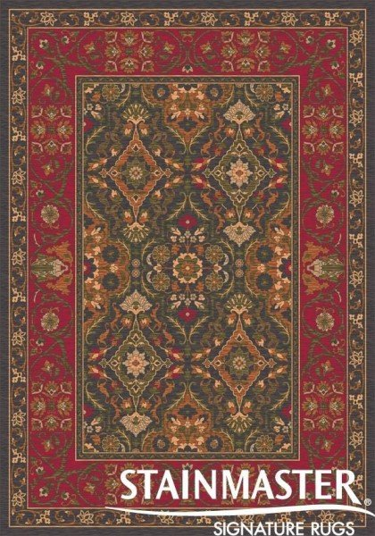 Ebony (24)  Traditional / Oriental Area Rug