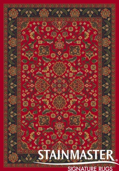 Currant Red (224)  Traditional / Oriental Area Rug
