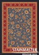 Product Image of Traditional / Oriental Moor Blue (610)  Area Rug