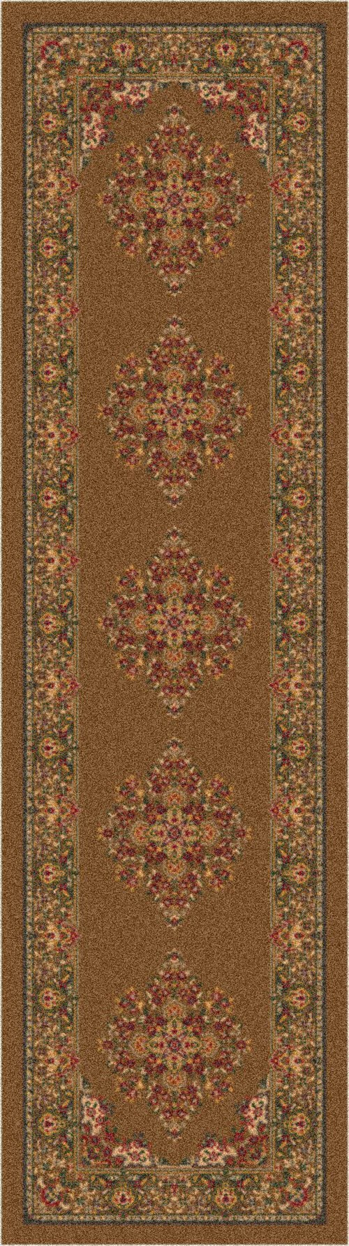 Umber (51)  Traditional / Oriental Area Rug