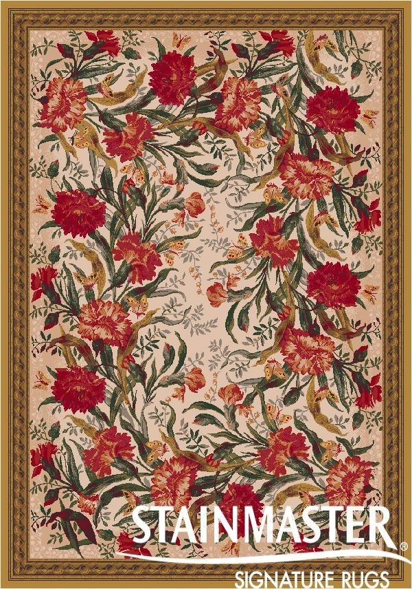 Curry (34) Floral / Botanical Area Rug
