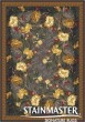 Product Image of Floral / Botanical Ebony (24) Area Rug