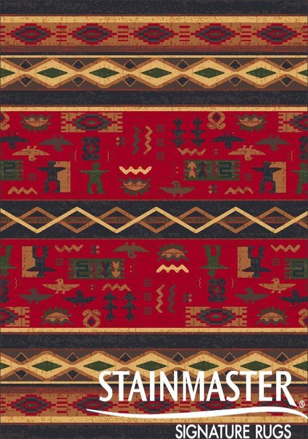 Ebony (24)  Southwestern / Lodge Area Rug