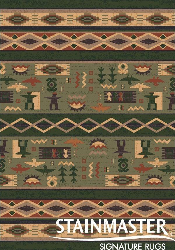 Autumn Forest (366)  Southwestern / Lodge Area Rug