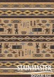Product Image of Southwestern / Lodge Velvet Brown (470)  Area Rug
