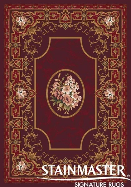 Dark Cherry (214)  Traditional / Oriental Area Rug