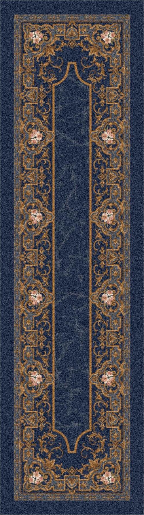 Phantom Blue (621)  Traditional / Oriental Area Rug
