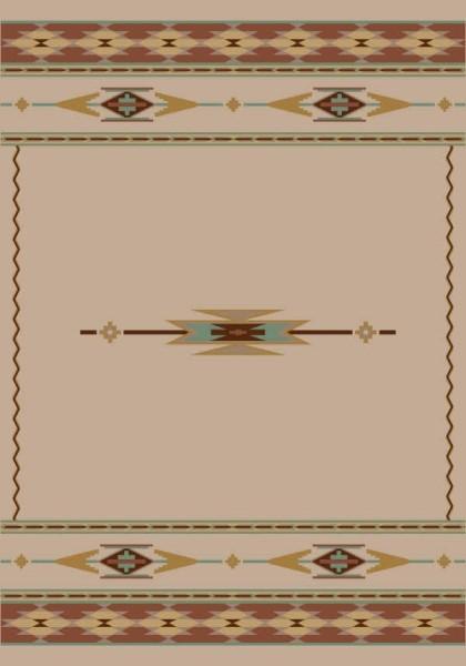 Pearl Mist (1000) Southwestern Area Rug