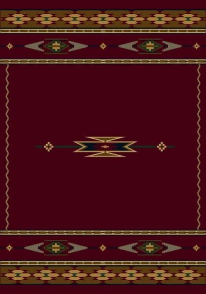 Garnet (10000)  Southwestern Area Rug