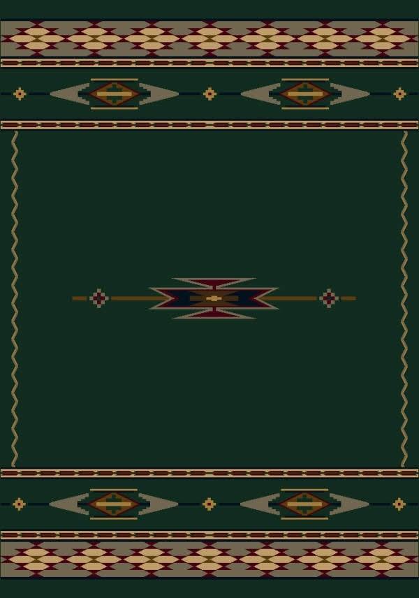 Emerald (11000)  Southwestern / Lodge Area Rug