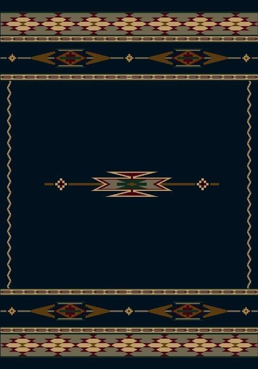 Sapphire (12000)  Southwestern / Lodge Area Rug