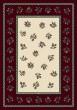 Product Image of Floral / Botanical Garnet (10000)  Area Rug