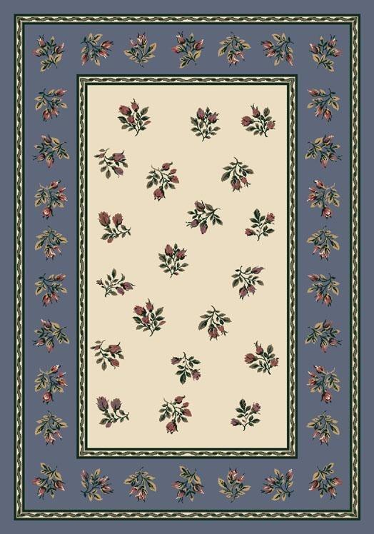 Lapis (7000)  Floral / Botanical Area Rug
