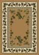 Product Image of Floral / Botanical Maize (4300)  Area Rug