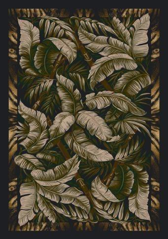 Ebony Sage (12111)  Floral / Botanical Area Rug