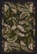 Product Image of Floral / Botanical Ebony Sage (12111)  Area Rug