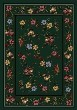 Product Image of Floral / Botanical Emerald (11000)  Area Rug