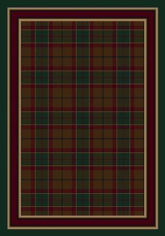 Emerald (11000)  Geometric Area Rug