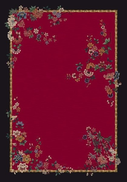 Ruby (8000)  Floral / Botanical Area Rug
